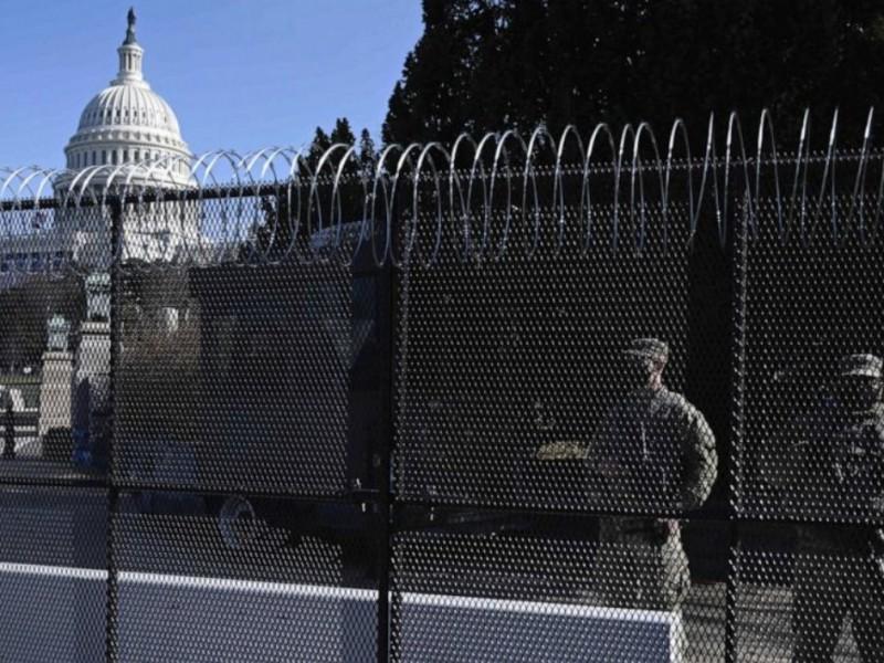 Detenciones en Washington DC durante blindaje del Capitolio