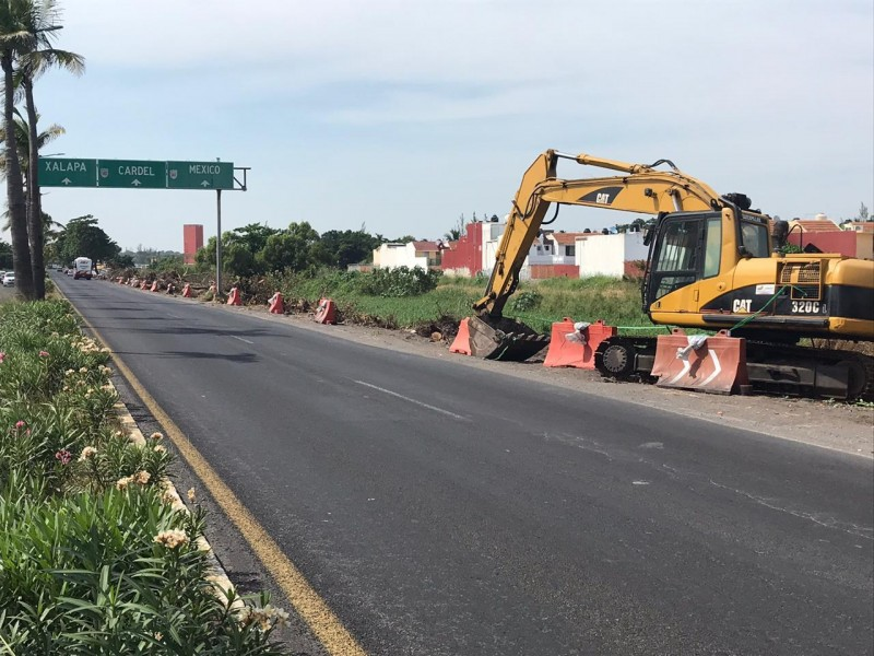 Detenida ampliación de carretera por no tener permisos ambientales