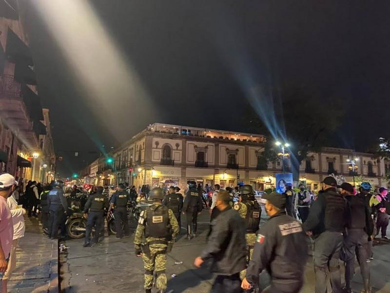 Detenidas 18 personas durante noche de muertos en Morelia