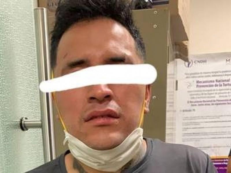 Detenido burla a policías y se fuga del C5 Puebla