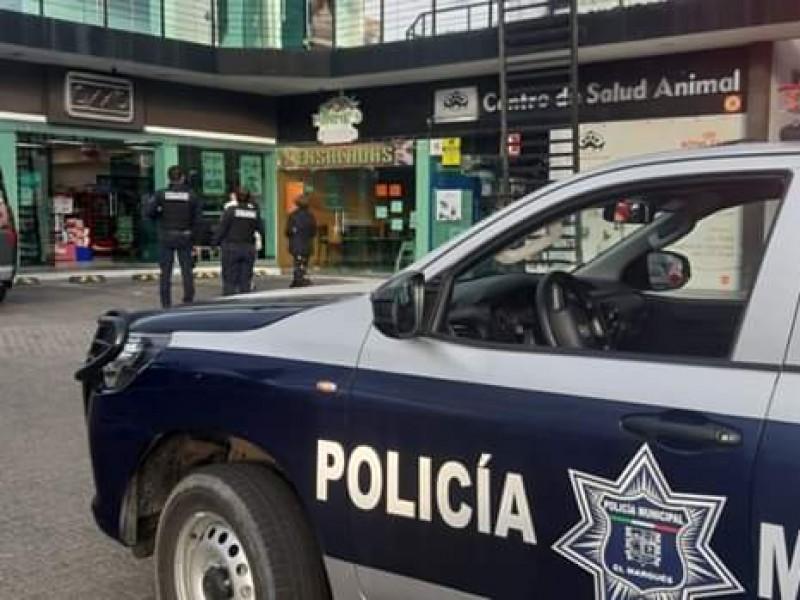 Detenido escapa de Policías Municipales de El Marqués