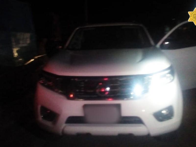 Detenido por robo de vehículo