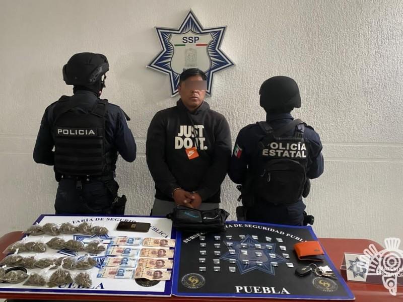Detienen a uno de los principales narcomenudistas del Mercado Morelos