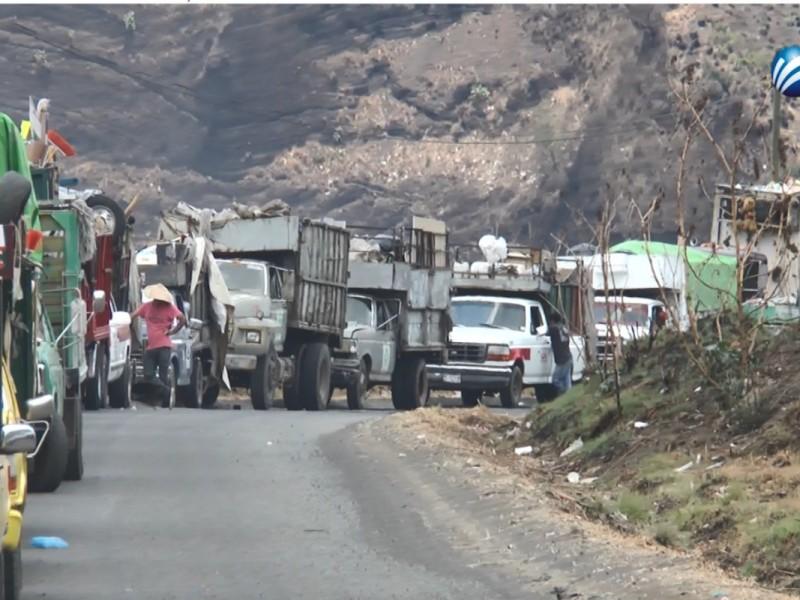 Detenidos camiones recolectores del ayuntamiento