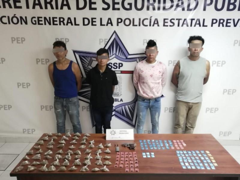 """Detenidos cuatro presuntos narcovendedores de """"El Pelón del Sur"""""""