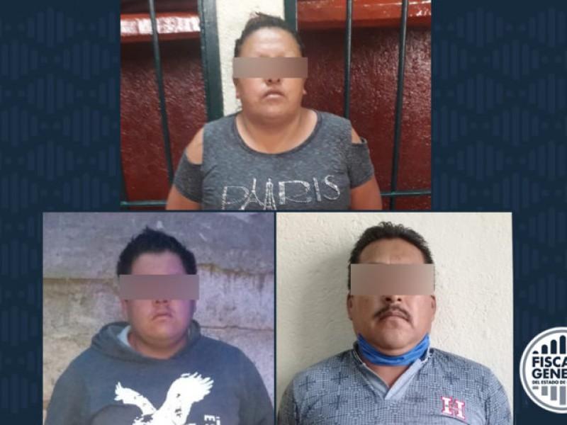 Detenidos por robo a adultos mayores