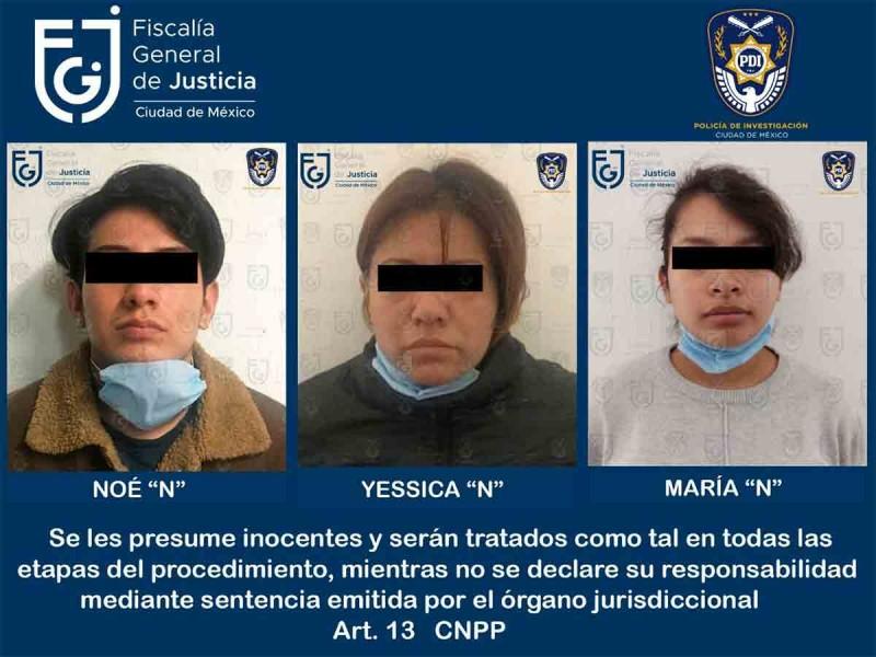 Detenidos sospechosos de la muerte de niña en CDMX