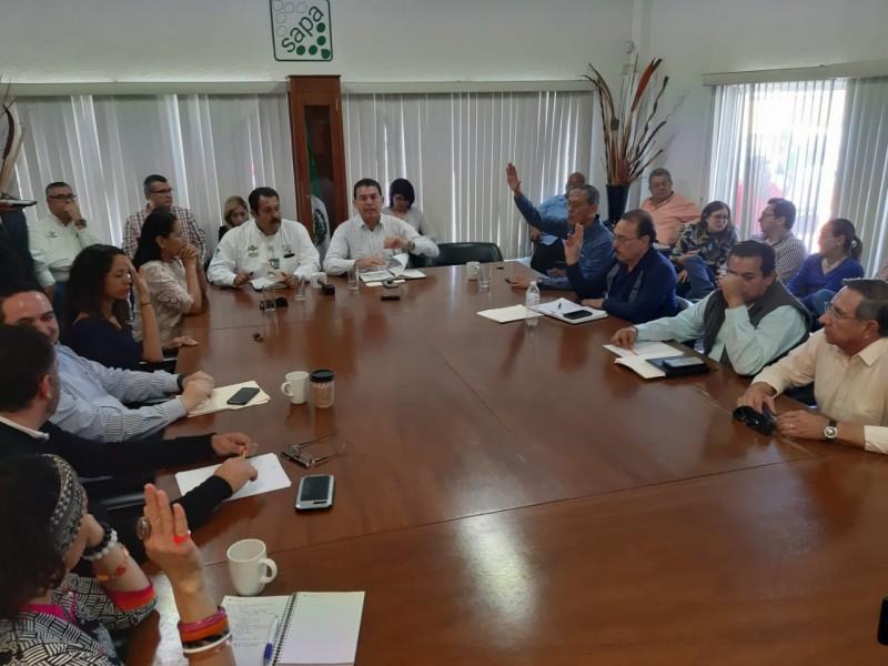 Determinan cambios en directivos de OOMSAPAS La Paz