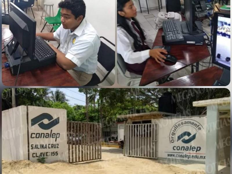 Determinan no aplicar examen de admisión en CONALEP 155