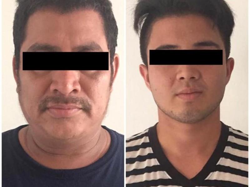 Detiene FGE a dos presuntos narcomenudistas en Tapachula