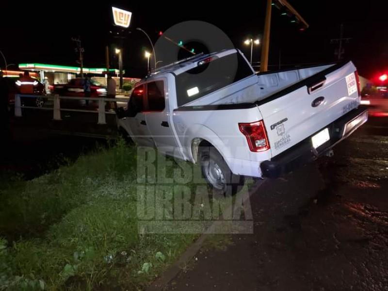 Detiene Fiscalía a policía que causó accidentes viales