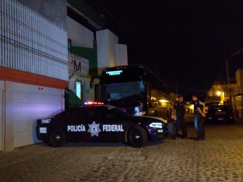 Detiene policía federal a 91 migrantes centroamericanos