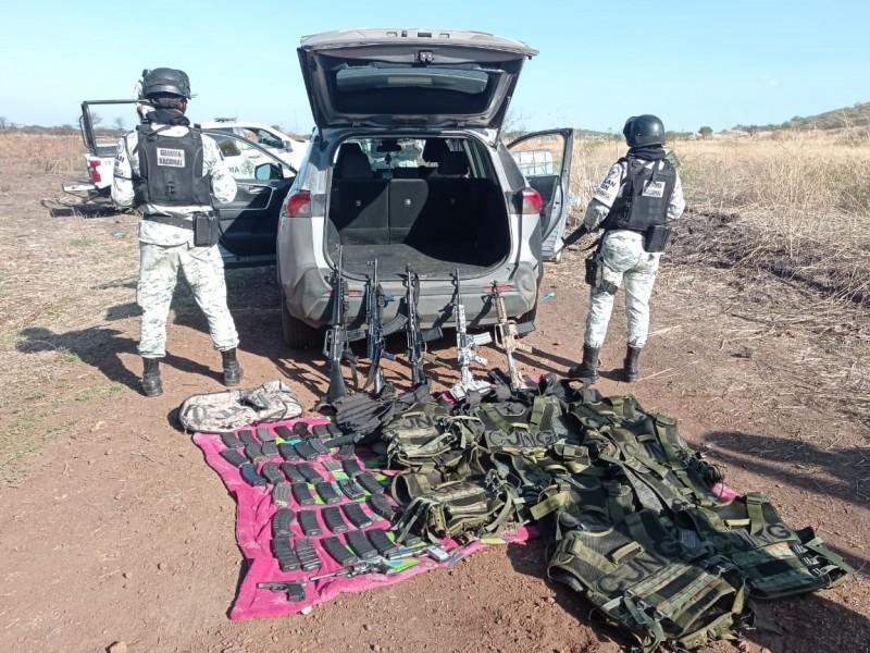 Detiene SEDENA a seis hombres armados en Ixtlán