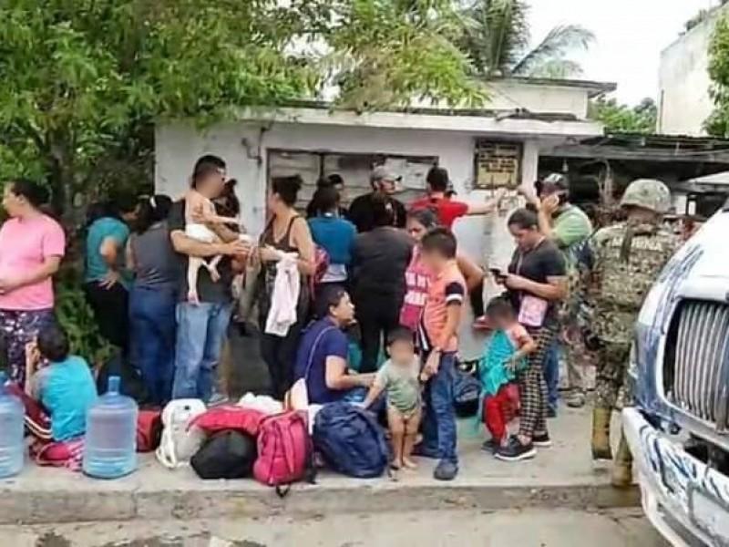 Detienen 70 personas indocumentadas en Tuxpan