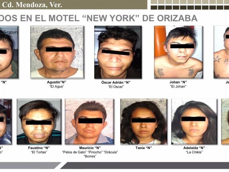 Detienen a 21 delincuentes en zona de Orizaba