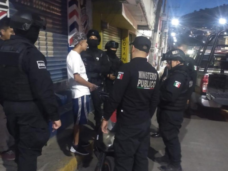 Detienen a 29 personas en Ecatepec