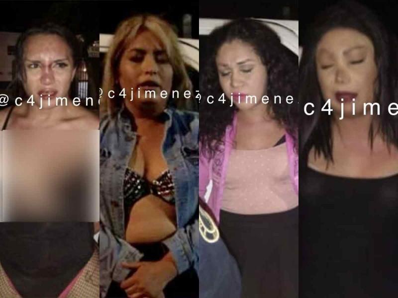 Detienen a 4 sexoservidores asaltantes