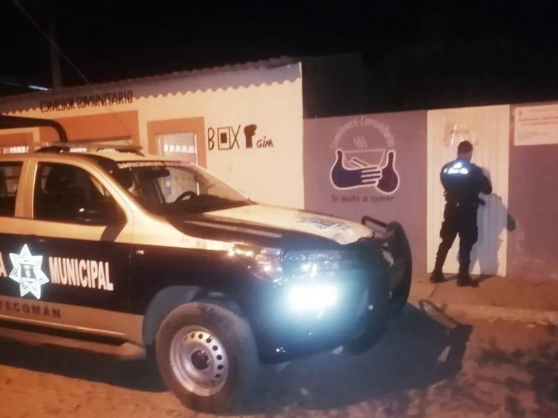 Detienen a 47 personas por faltas administrativas en Tecomán