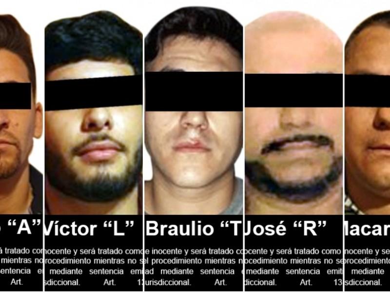 Detienen a 8 integrantes del Cártel de Sinaloa