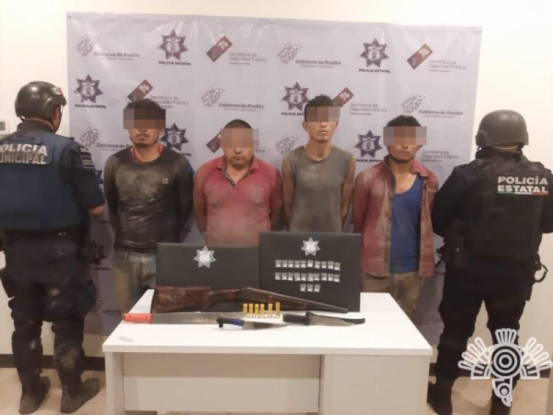 Detienen a banda delictiva que operaba en Tepanco de Lopez