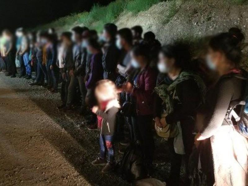 Detienen a cerca de 400 migrantes indocumentados en 24 horas