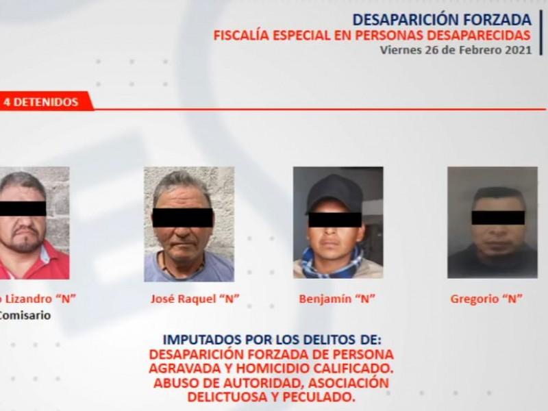 Detienen a comisario de Mezquitic y tres policías más
