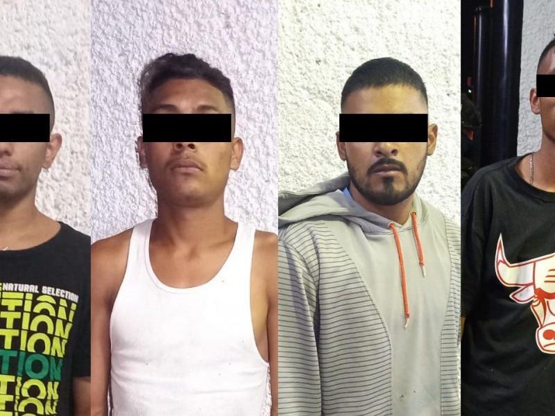 Detienen a cuatro presuntos homicidas en León
