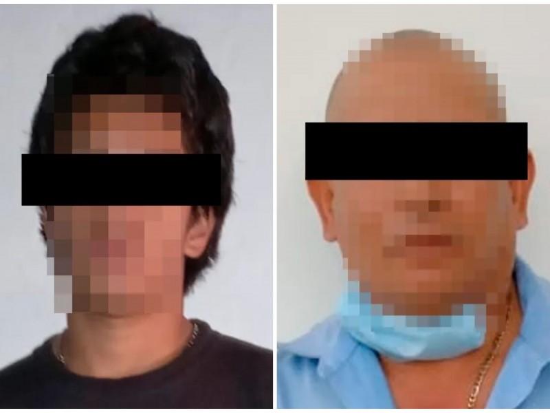 Detienen a dos por presunta violencia familiar, en Xalapa