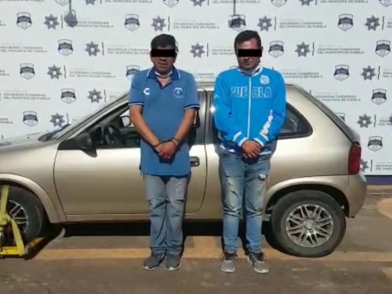 (VIDEO)Cámara graba a dos presuntos ladrones de automóviles