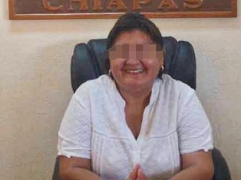 Detienen a ex alcaldesa de Suchiate Matilde N