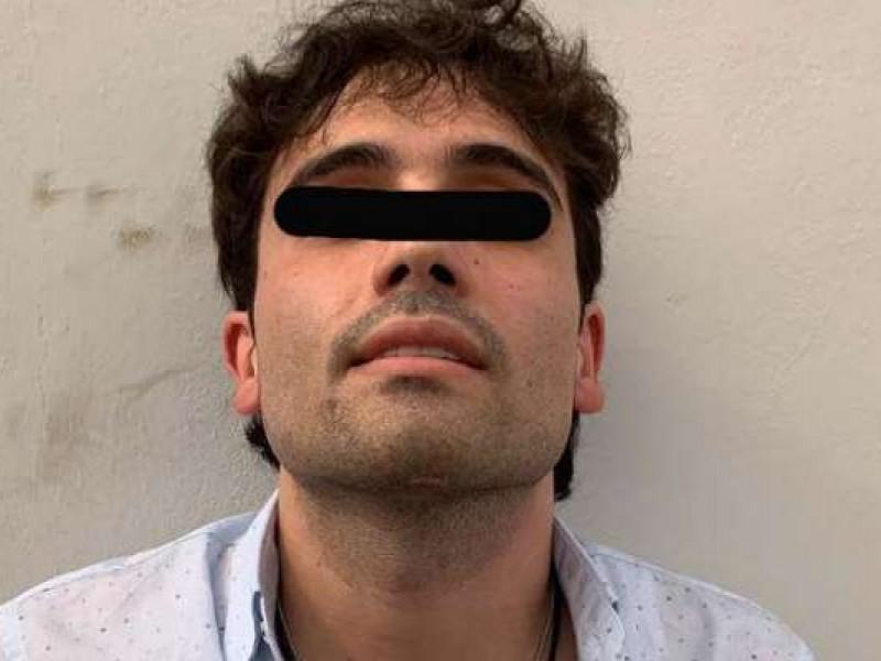Arde Culiacán tras detención de hijo del