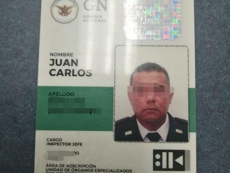 Detienen a inspector de GN que amenazó a toritas