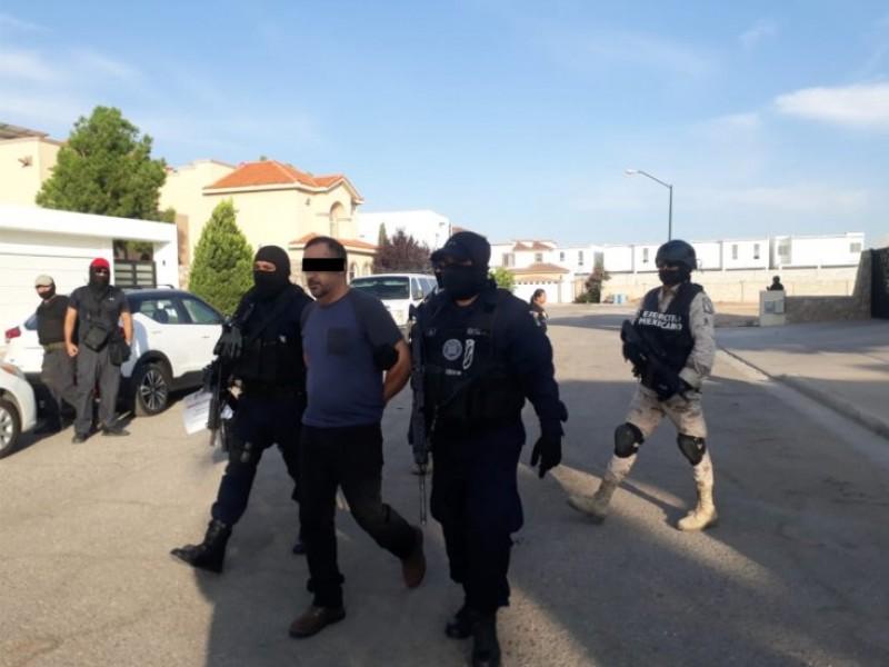 "Detienen a Julio César ""N"",  líder criminal"