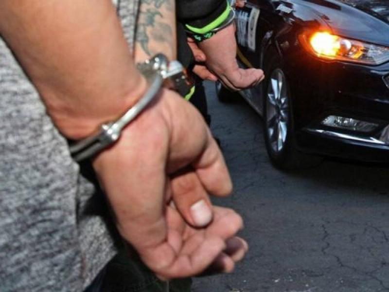 Detienen a ladrón de motocicletas en Iztapalapa