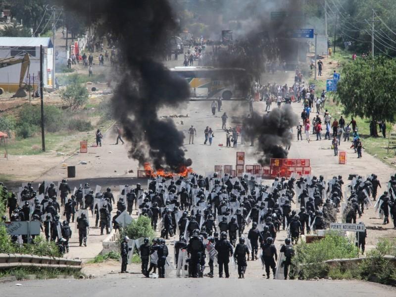 Detienen a mandos expoliciales relacionados con la matanza de Nochixtlán