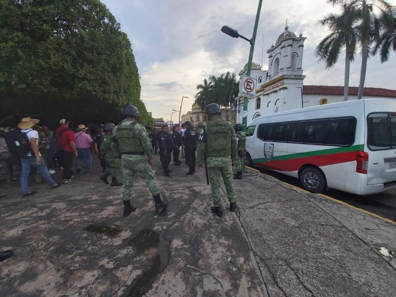 Detienen a más migrantes en Tapachula