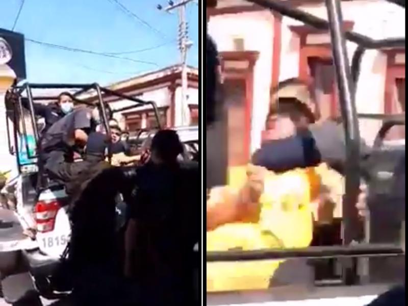 Detienen a menor en Santiago por no portar cubrebocas