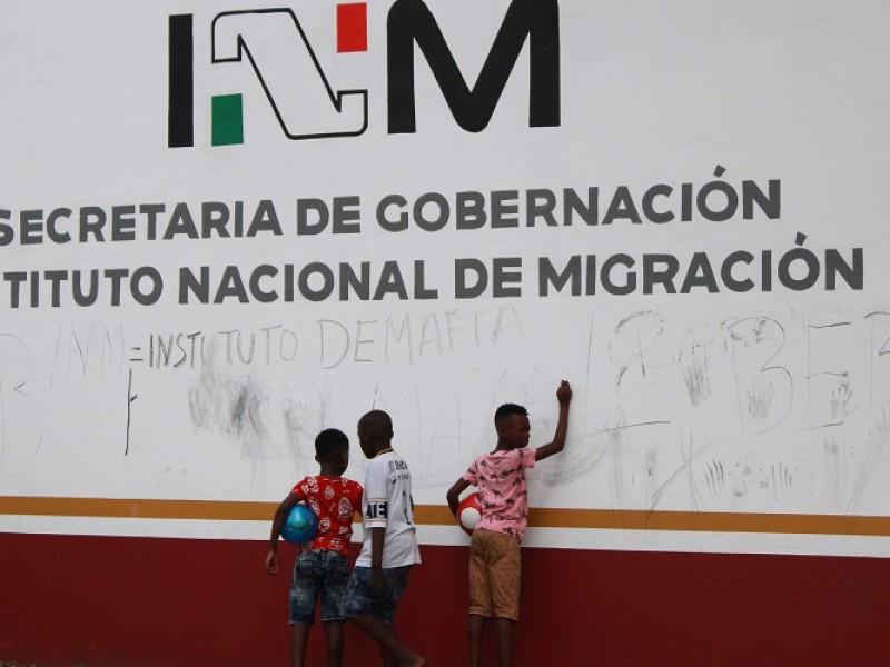 Detienen a migrantes centroamericanos en Villacorzo