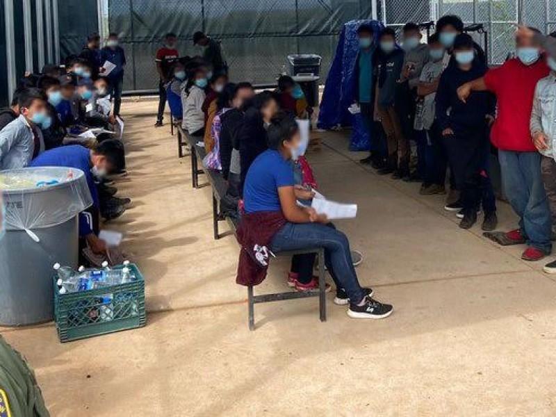 Detienen a migrantes indocumentados en sur de Arizona