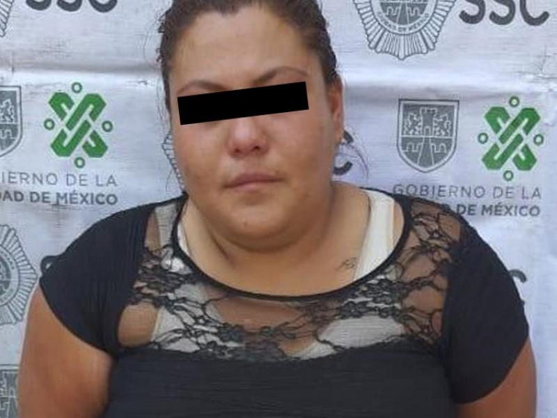 Detienen a mujer que golpeó a adulto mayor en Iztacalco