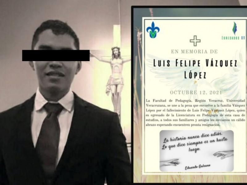 Detienen a presunto asesino del joven Luis Felipe