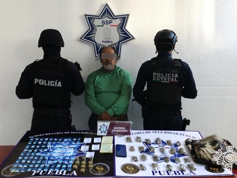 Detienen a presunto extorsionar del mercado Morelos