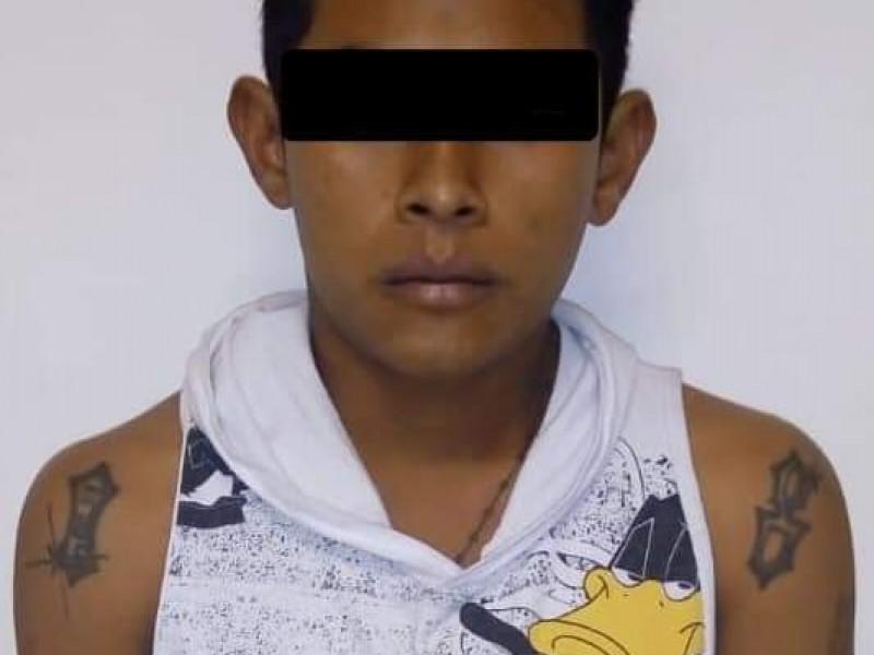 Detienen a presunto homicida en Tuxtla