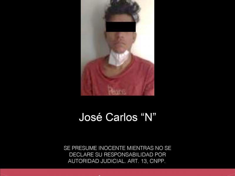 Detienen a presunto ladrón de neumáticos en Veracruz
