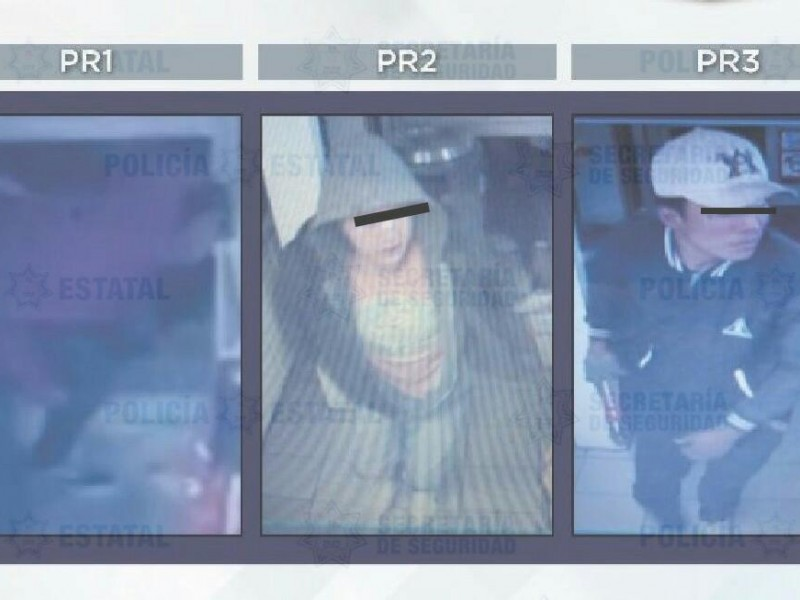 Detienen a presuntos delincuentes en Metepec
