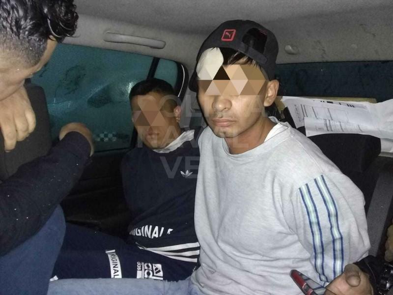 Detienen a presuntos ladrones de tienda departamental de Veracruz