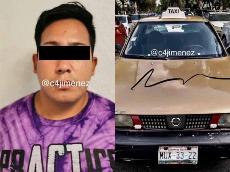 Detienen a taxista violador en la Cdmx