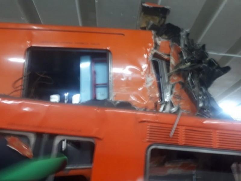 Detienen a trabajadora del metro por choque en estación Tacubaya