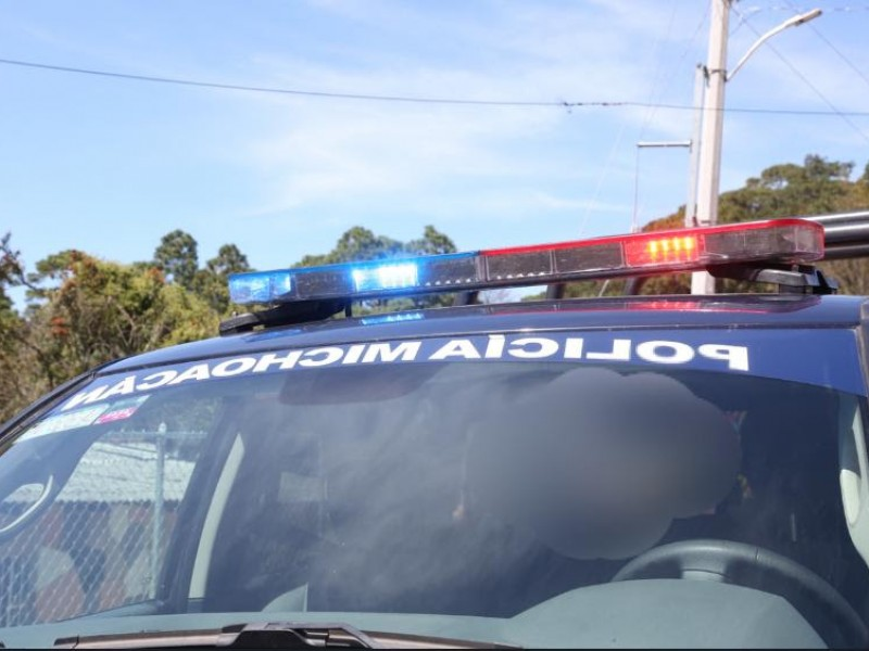 Detienen a tres por alterar el orden público en Zacapu