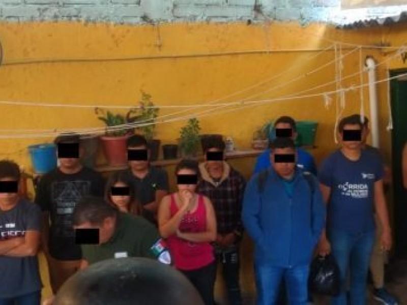 Detienen a tres traficantes de migrantes en Huajuapan